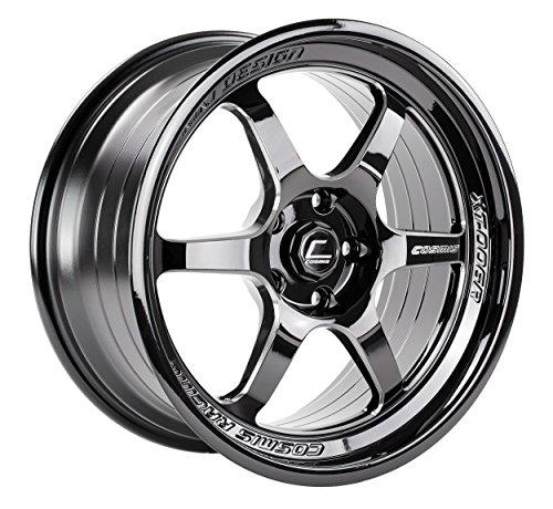 Racing 5 Spoke (Cosmis Racing XT-006R Black w/ Machined Spokes Wheel 18x9 +35mm 5x114.3 - Set of 4)