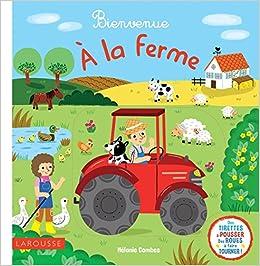 Bienvenue à la ferme !: Amazon.es: Combes, Mélanie: Libros en idiomas  extranjeros