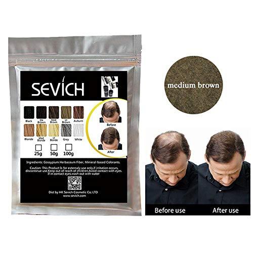 - Hair Building Fibers, Foonee 100 Grams Natural Plant Hair Fibers Refill For Hair Loss, Alopecia Areata & Postpartum Hair Loss, Hair Thickening For Men & Women
