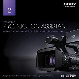 Sony Vegas Pro Production Assistant 2 [Download] (B00DQG84JO) | Amazon Products