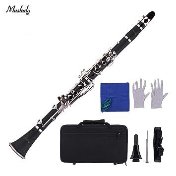Festnight Muslady Instrumento de viento con boquilla ...