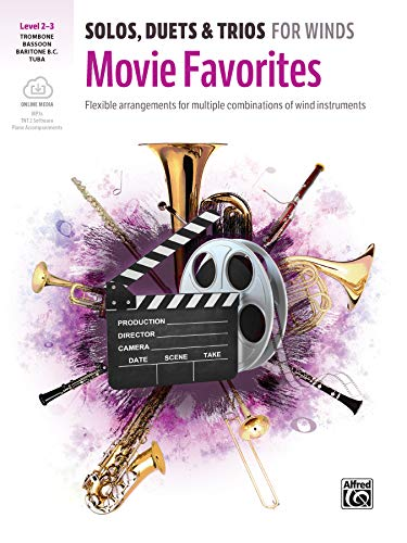 (Solos, Duets & Trios for Winds -- Movie Favorites: Flexible Arrangements for Multiple Combinations of Wind Instruments, Book & Online Media)
