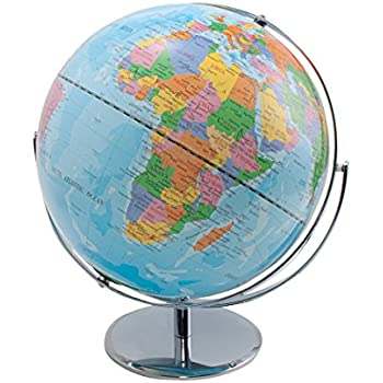 Amazon advantus 12 desktop world globe with blue oceans advantus 12 desktop world globe with blue oceans 30502 sciox Image collections