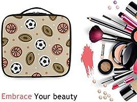 Bolsa de Maquillaje con diseño de balón de Rugby de fútbol ...