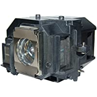 AuraBeam Professional Epson ELPLP58 Projector Replacement Lamp with Housing (Powered by Osram)