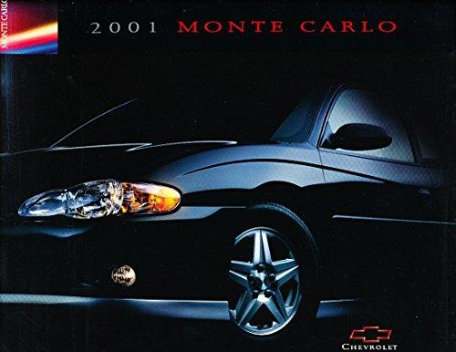 2001 Chevrolet Monte Carlo 20-page Sales Brochure Catalog Canada - Chevy LS SS
