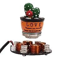 Icstation Maglev Levitron Magnetic Levitation Display Stand Floating Holder Kit for DIY Levitation Toys Furnishings