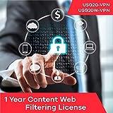 Software : Zyxel Content Web Filtering Subscription License (1 Year) for USG20-VPN | USG20W-VPN