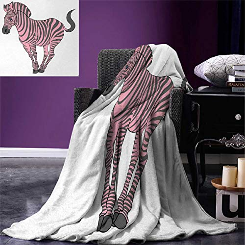 Used, Anniutwo Pink Zebra Throw Blanket Naturalistic Baby for sale  Delivered anywhere in USA