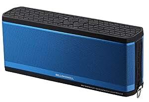 Bell+Howell Waterproof Desktop Bluetooth Speaker (Blue)