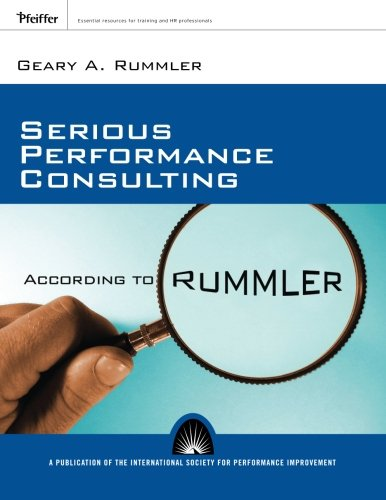 Serious Performance Consulting