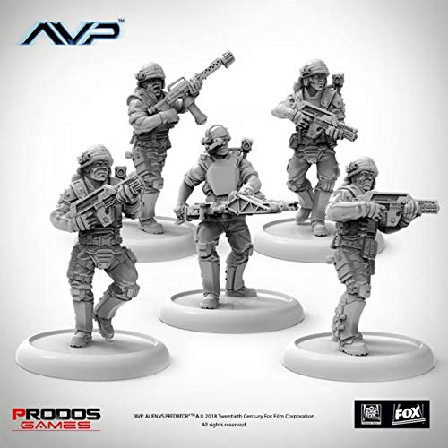Amazon.com: Alien vs Predator (AVP): USCM Multipart Marines ...