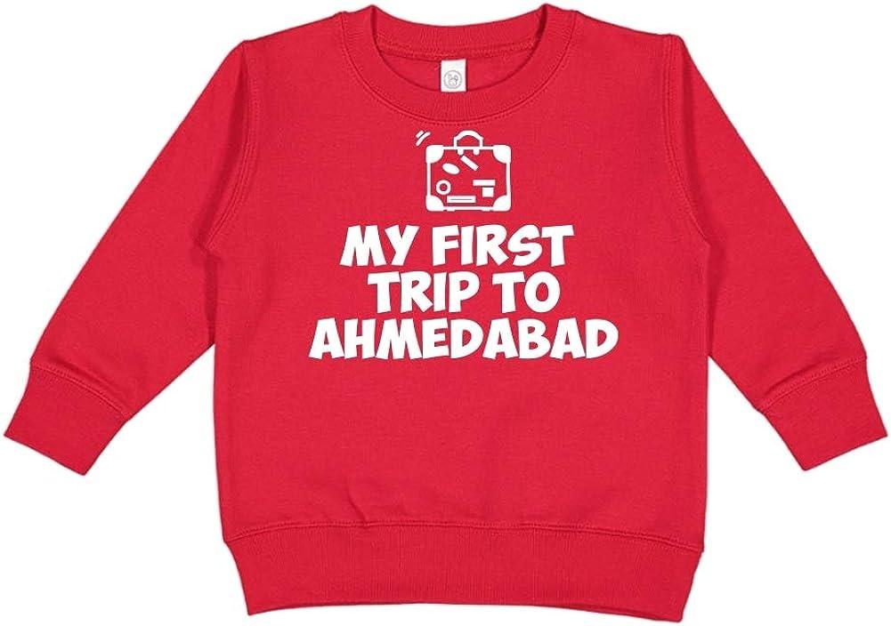 Mashed Clothing My First Trip to Ahmedabad Toddler//Kids Sweatshirt
