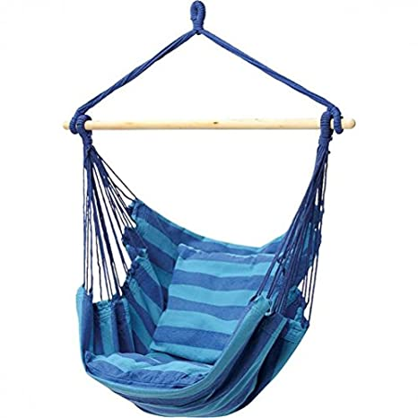 Delicieux Club Fun Hanging Rope Chair   Blue