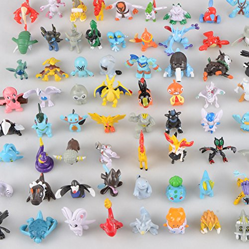 Pokemon Set of 25pcs Cute 3.5~5.5cm Mini Pokemon Random Pearl CT Figures Toy Party Gifts by Syeer