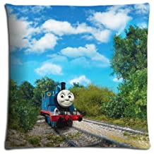 """18x18 18""""x18"""" 45x45cm car pillow protector case Polyester Cotton durable no ironing Thomas the Tank Engine & Friends"""