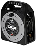 SMJ Electrical Smj Ct2513 - 4Skt 25Mtr 13A Cable Reel With Thermal Cut-Out