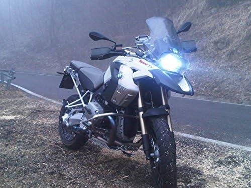 KIT H7 BOMBILLAS LED PARA BMW 1200 x 800 GS 650 LÁMPARA CENTRAL LED DE CRUCE NO XENON HOMOLOGADO