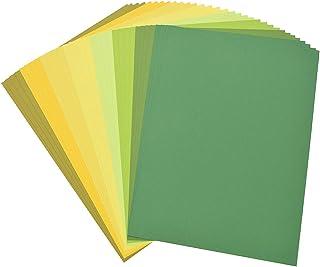 Kesheng 32x A5 Bastelpapier Stanzpapier Karton Farbig für Stanzen Srapbooking DIY