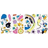 Roommates Rmk2259Scs Adventure Time Peel And Stick Wall Decals