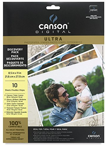 Canson Digital Ultra Paper 8.5X11 Discover Pk