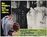 The Abominable Dr. Phibes POSTER Movie (1971) Style B 11 x 14 Inches - 28cm x 36cm (Vincent Price)(Joseph Cotten)(Hugh Griffith)(Terry-Thomas)(Virginia North)(Susan Travers)(Alex Scott)