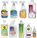 Scented ECOS Earth Friendly Products Kitchen and Bath Cleaning Set