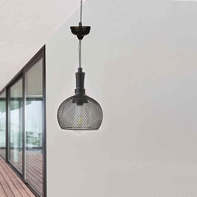 Luxform Lighting Jazz - Farol Solar LED para Colgar, Color Negro ...
