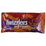 Twizzlers Twist Pull'n'peel Fruit Punch Candy, 12 Oz (340g) BagGrape, Cherry, Orange Flavors {Peanut Free}