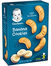 Gerber Graduates Cookies, Banana Cookies Boxes, 5 Ounce (Pack of 12)
