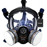 Best Gas Masks - Holulo Organic Vapor Full Face Respirator Respiratory Protection Review
