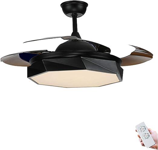 Diaodeng Luz para Ventilador de Techo con Motor silencioso, 42 ...
