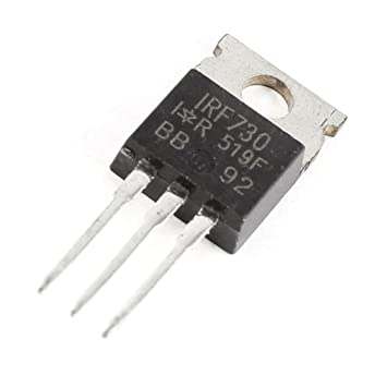 5 x IRF730 Power MOSFET N-Channel 5.5A 400V FREE SHIPPING