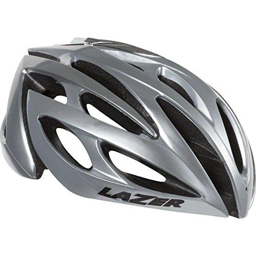 Lazer O2 Helmet: Silver SM