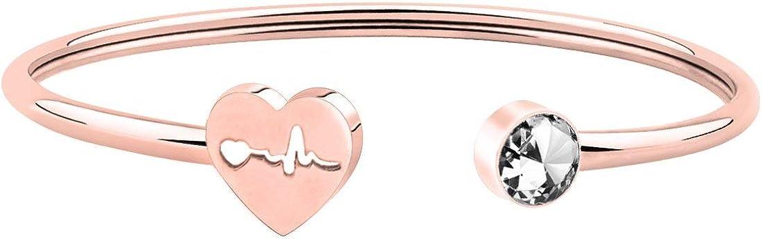 Ensianth - Pulsera de estetoscopio para enfermera, médico, estudiante de medicina