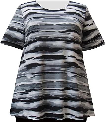A Personal Touch Grey Storm Women's Plus Size Top