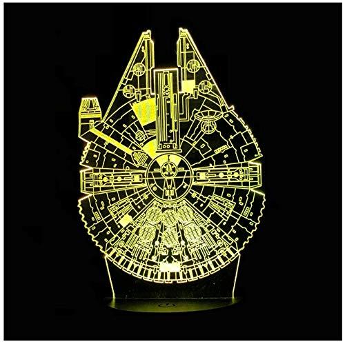 Beleuchtung Cartoon 3D Lampe LED USB Nachtlicht Touch Taschenlampe Tisch Stimmung Gadget Kid Toy