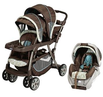 Amazon.com: Graco ready2grow LX Duo Baby Stoller & snugride ...