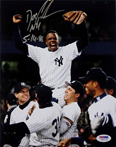 Dwight Gooden Signed NH 5-14-86 8x10 Photo PSA/DNA Auto Autograph Yankees ()