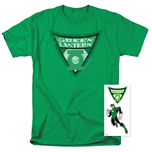 - Batman: The Brave and The Bold T Shirt Green Lantern Shield (Small)