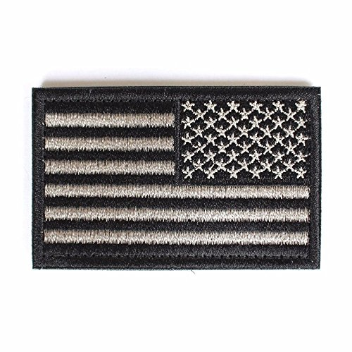 American Flag Tactical  Morale Patch with Velcro for backpac