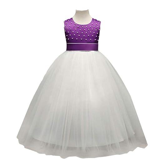 WTDlove Falda para niños con Cuentas Princesa Falda Tutu Halloween ...