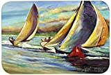 Caroline's Treasures JMK1057CMT ''Knost Regatta Pass Christian Sailboats'' Kitchen or Bath Mat, 20'' by 30'', Multicolor