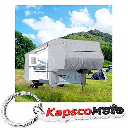 Waterproof Superior 5th Wheel Toy Hauler RV Motorhome Cover Fits