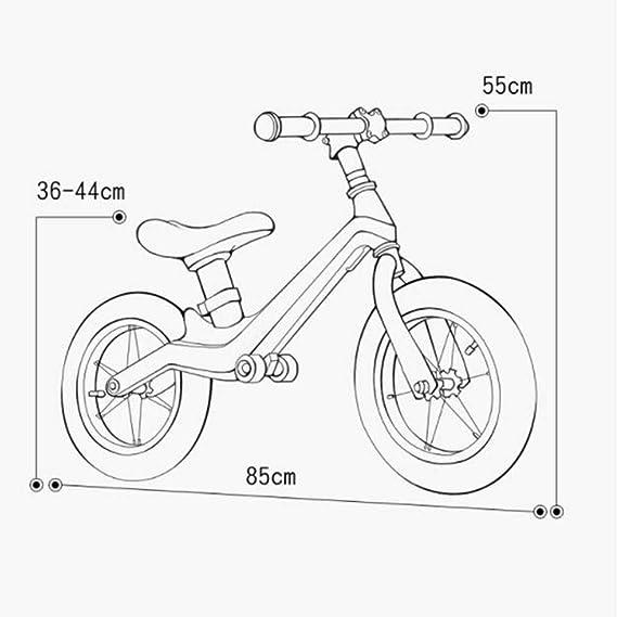 Bicicletas sin pedales Walking Bike 1-2-3-6 Años Baby Slide Car ...