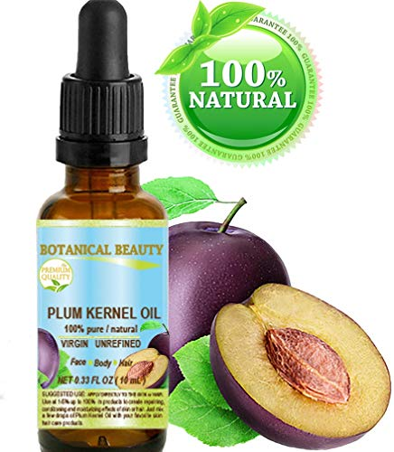 French PLUM KERNEL Seed Carrier Oil. 100% Pure / Natural / U