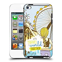 Head Case Designs Blonde My BFF Cases Hard Back Case for Touch 5th Gen / Touch 6th Gen