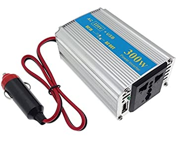 Black /& Decker Inverter 500W Auto Trasformatore Convertitore Energia Elettrica da 12 V a 220 V per Camper Barca con Presa USB per Ricarica Smartphone Black And Decker