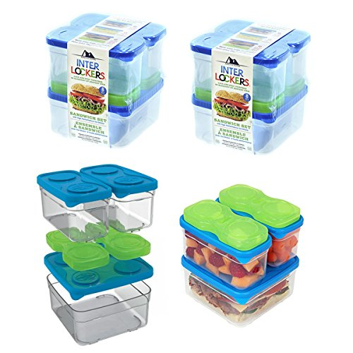 Arctic Zone Interlockers Containers Stackable