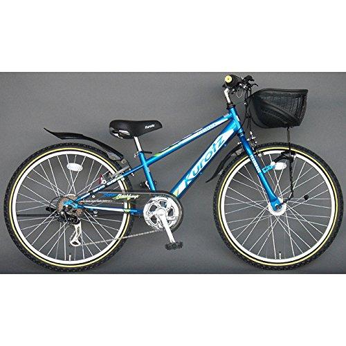 クロッツ Kurotz 子供用自転車 フラッシュバックSTD FBR246STD スパークブルー B00ADFRNXO